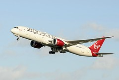 Virgin Atlantic Airways Boeing 787-9 Dreamliner (Geoff Dickinson) Tags: lhr dreamliner virginatlanticairways dreamjeannie boeing7879dreamliner gvzig