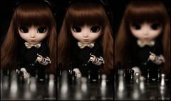 Echec et mat ~ (MintyP.) Tags: 6 animal vintage photography outfit eyes doll sony chess pullip minty 58mm échecs reinhold merl nex helois stica mintypullip elwyna