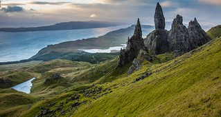 Waiting for the Light - Old man of Storr, Isle of Skye