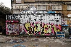 (Alex Ellison) Tags: urban graffiti boobs chrome roller graff southlondon peckham dfn dowt dowta himbad