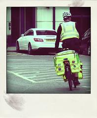 cycle rapid response unit (Leo Reynolds) Tags: bike bicycle polaroid cycling cyclist fake cycle faux paramedic phoney fakepolaroid fauxpolaroid poladroid phoneypolaroid xleol30x xxx2016xxx