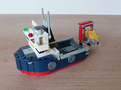 LEGO 31045 LEGO CREATOR 3 in 1 2016 Ocean Explorer Ship and Submarine (1/3) (Totobricks) Tags: boat ship lego submarine howto instructions creator build 3in1 2016 oceanexplorer legocreator totobricks lego31045
