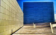 lvdh (132) (Lex van der Holland) Tags: blue architecture silver opera oslooperahouse