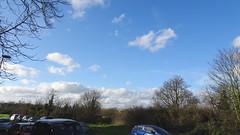 Sky near the Heath (Julie70 Joyoflife) Tags: blue sky london clouds blackheath january lookingup bleu ciel londres nuages janvier nori springinwinter photojuliekertesz photojulie70