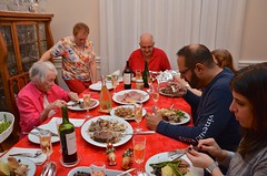 Christmas Dinner (Joe Shlabotnik) Tags: christmas dad nancy danny sue patty phyllis 2015 afsdxvrzoomnikkor18105mmf3556ged december2015