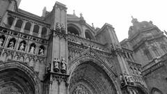 Santa Iglesia Catedral Primada (krossbow) Tags: espaa church weather fog spain cathedral gothic foggy trafalgar toledo theprimatecathedralofsaintmaryoftoledo santaiglesiacatedralprimadadetoledo trafalgarinsider spanishwonders
