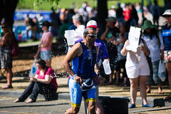 248A3007.jpg (isthiscarbon) Tags: sports water race droplets running run ironman splash triathlon geelong 703