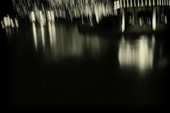 Reflections Sketch (doug_r) Tags: blackandwhite bw blancoynegro reflections colorado denver gazebo blancetnoir denverbotanicalgarden panasonicgf1 panasonic1235f28 20151224 p1060429edit2 lrpostagefxbwconvgoldtoning darknighthighisoslowshutterspeedssensornoise 2016dtrosenoffallrightsreserved