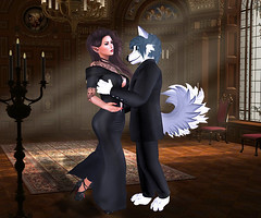 SAVES THE LAST DANCE FOR, YOU (Bug.Katey) Tags: life light sun game cute last photoshop ball photography for dance couple candles colours dress you room romance suit second rays edit saves