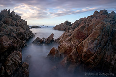 Buffalo Bay Silky Sunrise (Panorama Paul) Tags: longexposure sunrise southafrica gardenroute westerncape buffalobay nikkorlenses nikfilters nikond800 wwwpaulbruinscoza bigstopper paulbruinsphotography