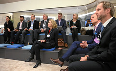 Supporting Relief from Outer Space:  Valerie Keller (C) (World Economic Forum) Tags: switzerland am davos wef che session congresscentre worldeconomicforum annualmeeting congresscenter graubuenden as020 am2016 sessionid73931