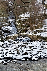 The Roman Bridge (eric robb niven) Tags: winter scotland waterfall rivertay outdoor winterspring glenlyon ericrobbniven