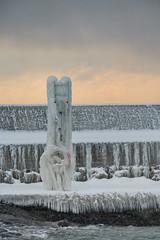 Icy (Infomastern) Tags: winter sea snow cold ice water is vinter sn vatten hav smygehuk kallt