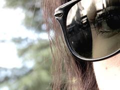 IMG_1805 (Noerlia A. Cortez) Tags: black green nature sunglasses outside model eyes photographer