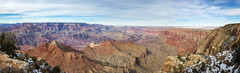 Panorama_GrandCanyon_1.jpg (Stang-33) Tags: park travel blue winter sunset red vacation arizona sky panorama cliff usa white america river landscape evening colorado rocks colorful view desert angle hole natural outdoor south united side famous north wide peaceful tranquility sunny grand landmark visit canyon erosion national huge vista states geology tranquil hdr attraction formations geological