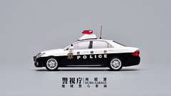 Toyota Crown GS200 (Kuma Pictures) Tags: scale car japan japanese model police toyota vehicle crown law enforcement 143 mpd 警視庁 rais toyotacrown