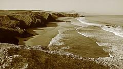 la pared. (dernico71) Tags: ocean mer water pared eau surf fuerteventura otro modo atlantique lapared otromodo