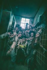 """Never walk into a toilet during a zombie apocalypse"" (dracorubio) Tags: people dark zombie evil toilet horror"