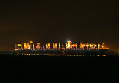 CSCL_Indian_Ocean (polomue) Tags: long exposure accident sony hamburg vessel alpha elbe 6000 langzeitbelichtung havarie containerschiff