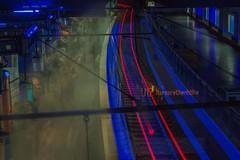 Ghost Train (der P(h)ottograph) Tags: 50mm essen bahnhof ubahn langzeitbelichtung 365days 365pix