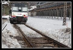Canfranc estacin (jemonbe) Tags: huesca nieve montaa jaca pirineos pirineo ferrocarril canfranc pirineoaragones canfrancestacin canfranero valledelaragn jemonbe