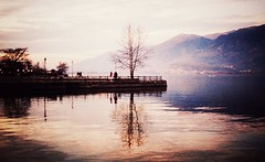 * (PattyK.) Tags: winter lake reflection greece balkans griechenland whereilive mycity winterlandscape ioannina giannena epirus ipiros pamvotida lovelycity     lakepamvotida