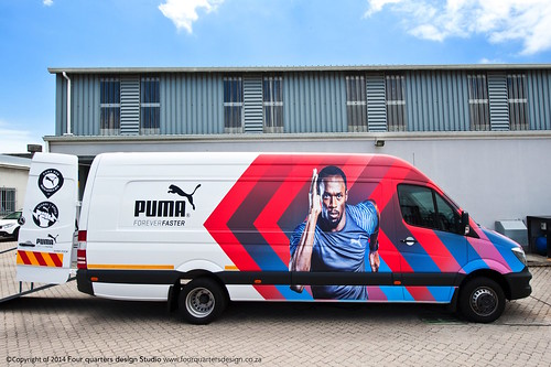 Puma pop up retail shop