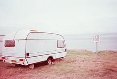 easkey, october 2014 (kodacolorframes) Tags: travel ireland film europe caravan expired nocamping yashicat4 ferraniasolarisfgplus100
