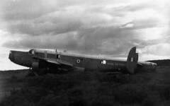 XF730/F Shackleton Kinloss (wwshack) Tags: scotland shackleton motu raf moray kinloss royalairforce firedump