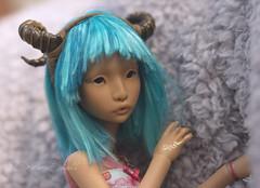 Horns (DreamSight) Tags: tiara caramel jade wig blank horn ninon remie clowidolls