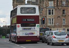 645 (Callum's Buses & Stuff) Tags: bus buses edinburgh president dennis lothian 2014 lothianbuses plaxton edinburghbus