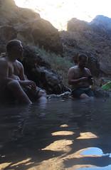 gold Strike Canyon (adamhaydock) Tags: kayak lasvegas hike hotspring blackcanyon