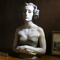 Buste de Yana Cini Alliata di Montereale, Francesco Messina (1900-1925), Pallazzo Cini (Yvette Gauthier) Tags: portrait sculpture venise venezia italie buste francescomessina palazzocini yanacinialliatadimontereale