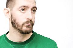 (Damien Cox) Tags: uk portrait selfportrait man male green me face self ego myself beard eyes nikon masculine moi jumper autorretrato scruff stubble i damiencox damiencoxcouk