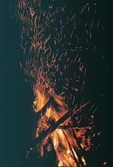 A154868_019 (Rachael.Robinson) Tags: winter light canada color film 35mm island fire flames bonfire fujifilm sparks campobello