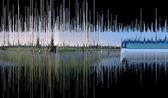 HM Verticality 2015 (METAHINGAQ) Tags: distortion flash digitalart sound waveform actionscript generativeart codedart