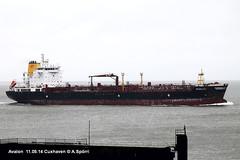 Avalon (andreasspoerri) Tags: gibraltar avalon tanker cuxhaven 3majirijeka imo9327093