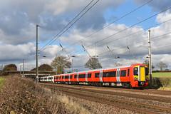 387203 - Ayres End - 1W37 (richa20002) Tags: electric tl class multiple emu express midland gatwick gtr unit 387 thameslink gx mainline mml electrostar tsgn