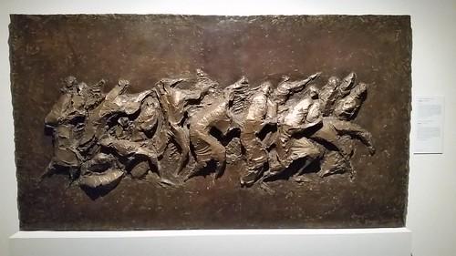 """Georges Schneider (1919 - 2010) - """"Exodus"""", 1981-1982 — at Musée d'art et d'histoire de Fribourg."""