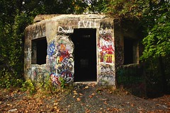 Don't go through the front door. (tucker pany photography) Tags: flowers favorite black fall abandoned beauty animals creek forest canon exposure doors action euro decay awesome falls era barrier fade block erie framing adidas bethlehem desolate exposed everlasting catasaqua