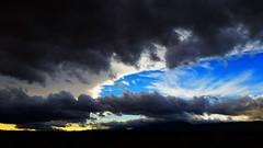 Black and blue skies (EF661AV) Tags: california ca sky cloud sun canon porn 7d antelopevalley setting av ferrell 661 ef661av