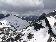 Widok z Pic Spijeoles na SW