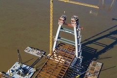 December 2015 (Ohio River Bridges: East End Crossing) Tags: bridge ohio project river crossing bridges indiana tunnel aerial east end louisville innovations louisvillesouthern
