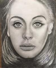 24- adele (alicirakli) Tags: music art sketch artist drawing drawings charcoal artists draw adele msic artisawoman alirakl