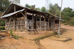 The village school (Laura Jacobsen) Tags: laos hilltribe akha phongsaly phongsali akhanoukouy