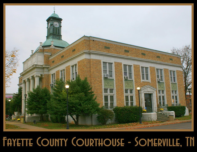 For Sale: TN Courthouse Postcard Collection: Fayette