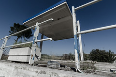 Gasoline 2.3 (Giulio Gigante) Tags: italy abandoned station project landscape ed nikon tokina gasoline ruscha abruzzo giulio twentysix ortona allaperto eccoqua giuliogigantecom