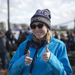 Leanne's shot of the photographer! (Adnams) Tags: beer theboatrace ghostship 2016 adnams furnivallgardens thebnymellonboatraces