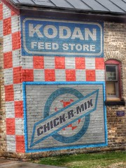 Kodan Feed Store- Algoma WI (2) (kevystew) Tags: wisconsin ad advertisement algoma kewauneecounty kodanfeedstore