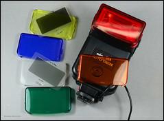 Minolta Auto 132X Flash Filter Set (02) (Hans Kerensky) Tags: auto color set minolta box flash filter nd electro inlay 128 132x